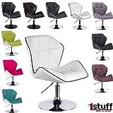 Designer Loungesessel Drehstuhl höhenverstellbar - URBAN von 1stuff - sehr