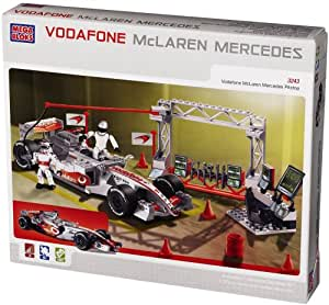 mega bloks jeu de construction vodafone mclaren mercedes pitstop jeux et jouets. Black Bedroom Furniture Sets. Home Design Ideas