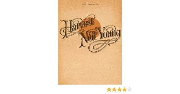 Neil Young Partitions pour Piano Harvest Chant et Guitare