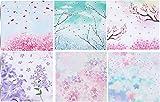 40X Toruiwa Origami Papier Craft Paper Origami Papier DIY Brünieren Faltpapier Faltblätter 15 x 15 cm Zufällige Farbe