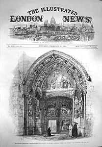 Cathédrale Espagne de Burgos de Cloître de 1869 Entrées