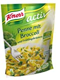 Knorr activ Penne mit Broccoli Nudel-Fertiggericht 2 Portionen (5 x 146 g)
