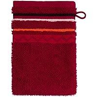 Frottana Country Manopla de baño, algodón, Rojo rubí, 20 x 15 cm
