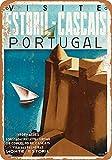 Hunnry Portugal Poster Metall Blechschilder Retro