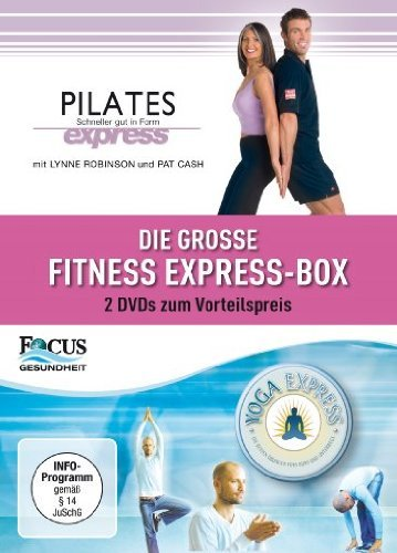 Die gro??e Fitness Express Box [2 DVDs] [Import allemand]