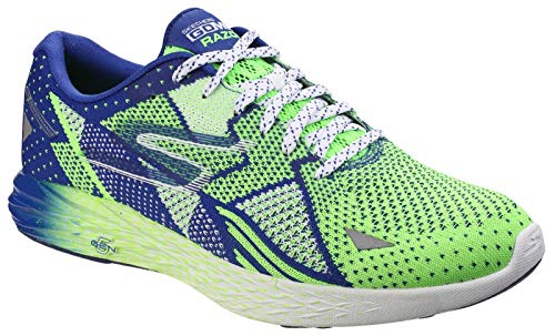 Skechers Mens Go MEB Razor Breathable Cushioned Track Running Shoes