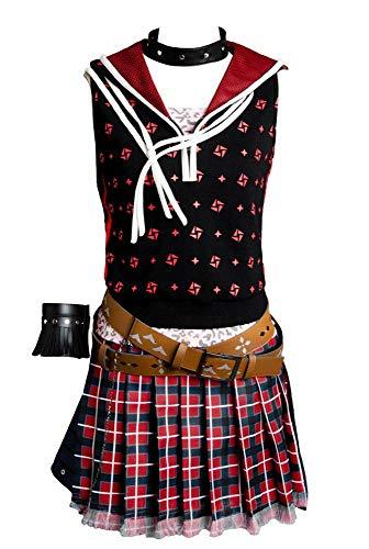 Final Fantasy XV FF 15 Iris Amicitia Kleid Uniform Cosplay Kostüm Damen M
