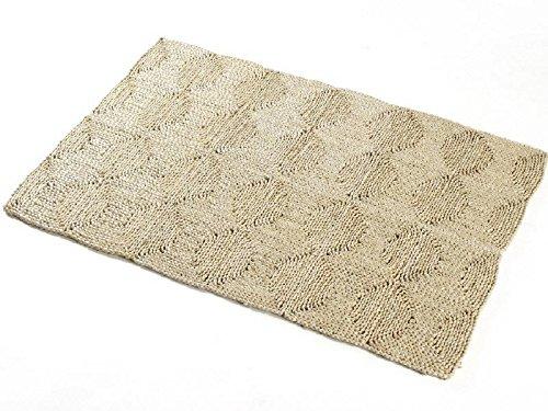 NaDeco Strohteppich 150cm x 240cm | Maisstrohteppich | Stroh Teppich | Maisstroh Teppich | Naturteppich