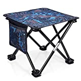 Portable Retractable Folding Stool for Kids Adults Camping BBQ Hiking Fishing Outdoor and Indoor Use Coquimbo Camping Stool