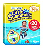 Huggies Little Swimmers- Bañadores Desechables, talla 2-3, 20 unidades