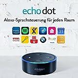 Amazon Echo Dot (2. Gen.) Intelligenter Lautsprecher mit Alexa, Schwarz - 2