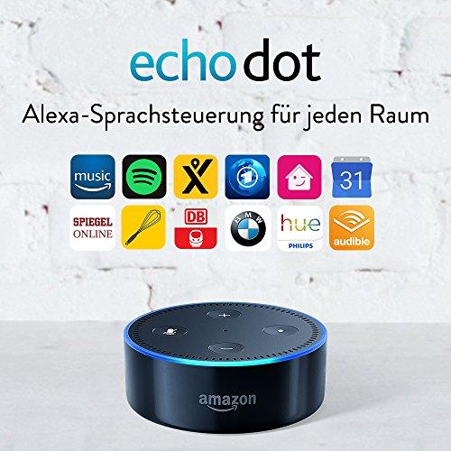 Amazon Echo Dot (2. Generation) in Schwarz - 2