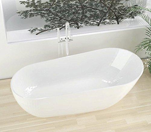 Freistehende Badewanne aus Mineralguss KZOAO-1488 Matt