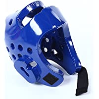 Sdkmah9 Protector de cabeza de espuma, protector de cabeza de boxeo, para niños, para entrenamiento de boxeo, protección de boxeo, XS, M, L, XL, Taekwondo Dipped EVA para artes marciales, color blue 1, tamaño XS