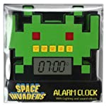 50Fifty Concepts Space Invaders Alarm Clock