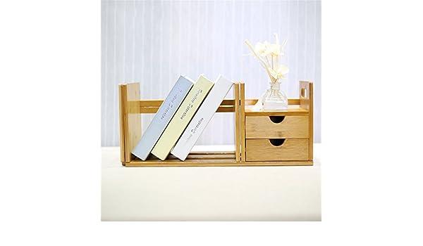 Gujj desk top teleskop regal office table top einfache bücherregal
