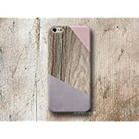 Rosa Corner Holz Print Hülle Handyhülle für iPhone 4 4s 5 5se se 5C 5S 6 6s 7 Plus iPhone 8 Plus iPod 5 6