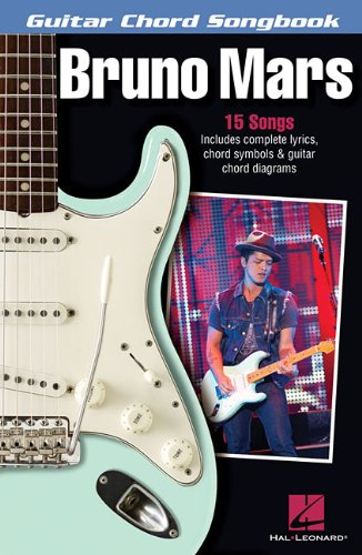 Guitar Chord Songbook: Songbook für Gitarre (Bruno Mars Sheet Music)
