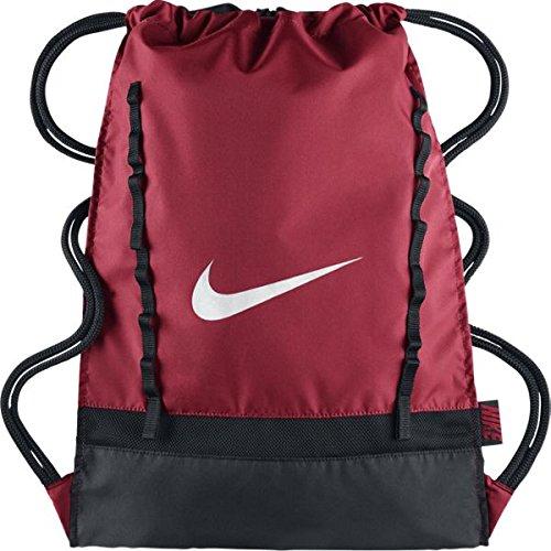 Nike BRASILIA 7 GYMSACK Borsa, Rosso - One size, Uomo
