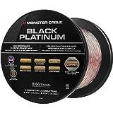 Câble Enceinte Compact Monster XP Clear Jacket Black Platinum CL Rated - 15.25 Mètres