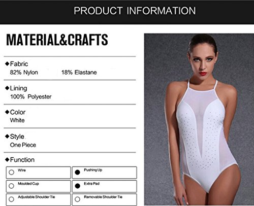 PRIDE S Il costume da bagno moda sexy sottile era sottile Body Costume Triangolare ( Colore : Bianca , dimensioni : M ) Bianca
