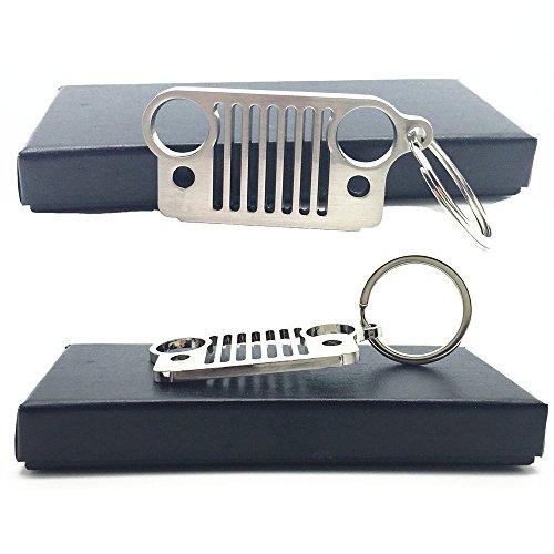 Preisvergleich Produktbild ep Laser Schlüsselanhänger Jeep Zubehör Grill Geschenke (Jeep)