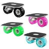 Drift Skates ,CAMTOA Außen Aluminium Freeline Drift Skates Skating Flashing mit vier Räder einem Schraubenschlüssel Recht&links
