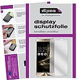 dipos I 2X Schutzfolie klar passend für Asus Zenfone 3 Deluxe ZS550KL 5,5 Zoll Folie Displayschutzfolie