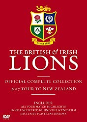British and Irish Lions: Official Complete Collection 2017 Tour to New Zealand [DVD]