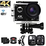 Action Camera Ultra HD 4k , schermo LCD da 2 pollici, Videocamera...