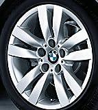 Original BMW Alufelge 3er E90 E91 E92 E93 Doppelspeiche 161 in 17 Zoll für hinten