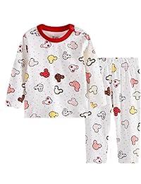 Hooyi Pijamas Enteros - para bebé Niña