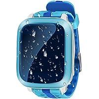 Smart Watch GPS Tracker enfants imperméable 1.44 inch traceur GPS tracking en temps réel enfants SOS Montre Téléphone enfant anti-perdu Bracelet pour iOS Andriod