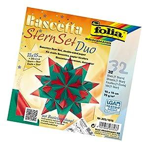 Kit para Hacer Estrellas Folia 836/3030Bascetta, Color Azul