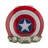 ekids Vi-B72CA Marvel Captain America Schild Bluetooth Wireless Lautsprecher tragbar rot/weiß