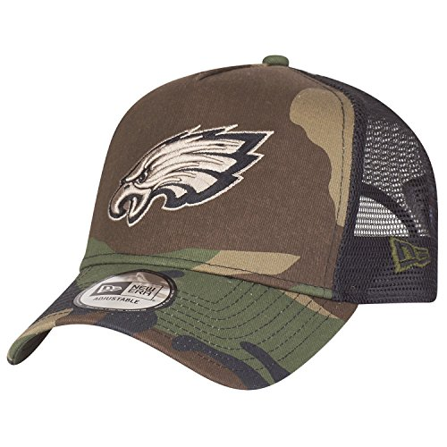 New Era Adjustable Trucker Cap - Philadelphia Eagles camo - Back Adjustable Trucker Hut