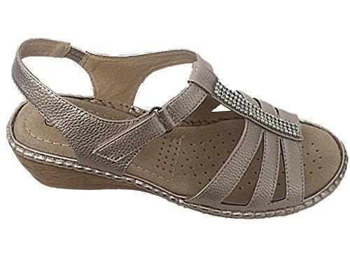 Cushion Walk - Scarpe con cinturino alla caviglia da ragazza' donna LT Pewter