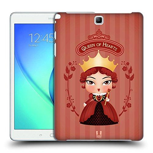 Head Case Designs Fatima Hamsa Cover Morbida In Gel Per Apple iPhone 7 / iPhone 8 Regina Di Cuori