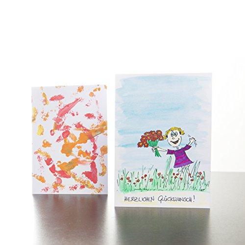 Blanko Postkarten - 6