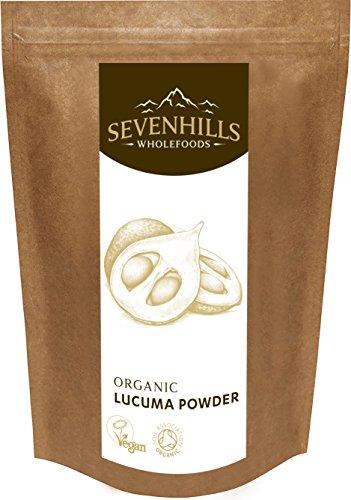 Sevenhills Wholefoods Lucumapulver Bio 300g (Zustand Beta-carotin)
