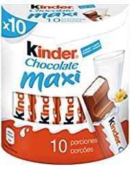 Kinder Maxi Snack de Chocolate - 10 Unidades