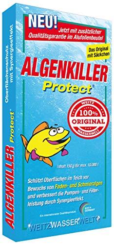 Algenkiller Protect® - Wasserpflege für Garten- und Schwimmteiche...