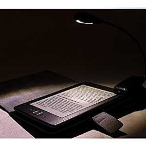 LEPOWER Reading Light / Clip on Light / Music Stand light / Reading Lamp and Portable Lights for E-Reader, Book & Bed Headboard (Single Arms) by LEPOWER