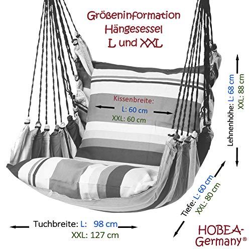 HOBEA-Germany Hängesessel Hängestuhl Hängeschaukel - 6
