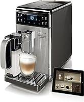 Saeco HD8977/01 GranBaristo Avanti Kaffeevollautomat, AquaClean, Appsteuerung, integrierte Milchkaraffe, silber