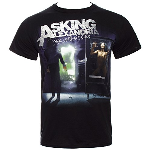 T Shirt Asking Alexandria From Death To Destiny (Nero) - Small