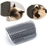 Kätzchen selbst Pflege Massage Bürste Wand Ecke Bürste New Werkzeug Katze Toys