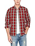 Levi's Herren Freizeithemd Sunset 1 Pocket , Mehrfarbig (Aspen Cherry Bomb 308), Medium