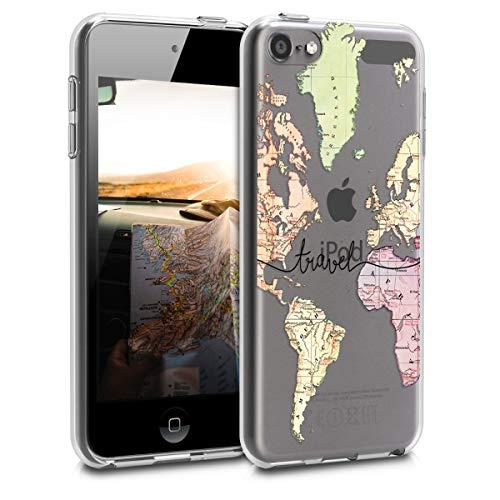 kwmobile Apple iPod Touch 6G / 7G (6. und 7.Generation) Hülle - Handyhülle für Apple iPod Touch 6G / 7G (6. und 7.Generation) - Handy Case in Schwarz Mehrfarbig Transparent