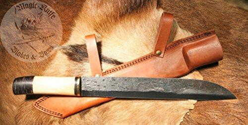 4/2no1 Magic-Knife NEW COLLECTION Mittelalter Sax Sachs Scramasax Messer Camel Boon NEU